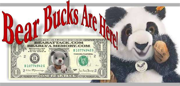 Bear Bucks Discount on Steiff