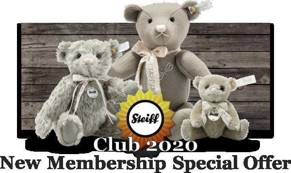 Steiff 2020 Club Special Offer