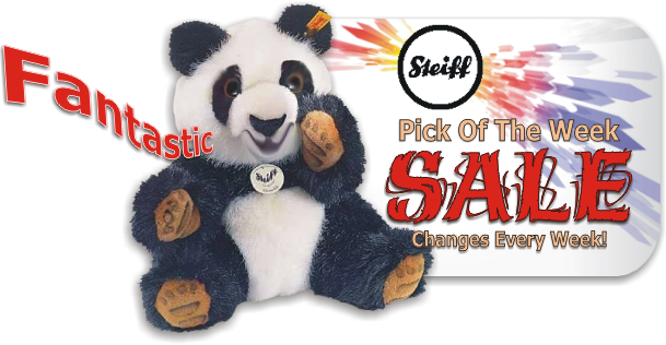 Steiff Pick of the week special pricing